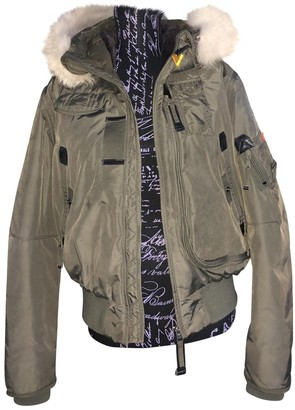 Parajumpers Khaki Coat for Women