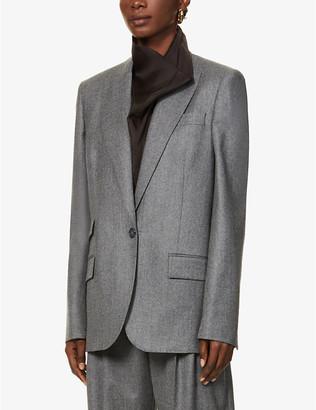 Stella McCartney Single-breasted wool blazer