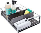 "Container Store 14"" Pull-Out Cabinet Organizer Chrome"