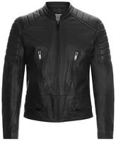 Sandro Speedway Leather Jacket