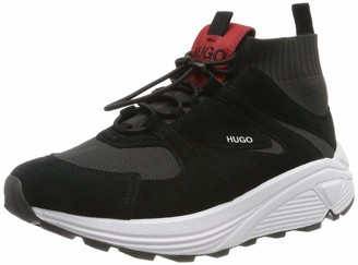 HUGO BOSS Women's Horizon_Runn_Knit Low-Top Sneakers