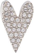 Sonia Rykiel crystal heart pin