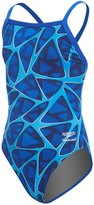 Speedo Endurance+ Girls' Caged Out Flyback One Piece Swimsuit 8155643