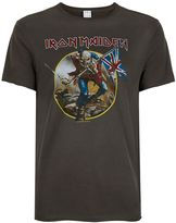 Amplified Washed Grey Iron Maiden T-shirt*