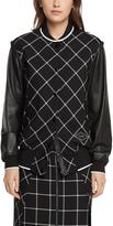 Rag & Bone Edith Varsity Jacket – Black/ White