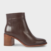 Paul Smith Women's Brown Calf Leather 'Jade' Boots