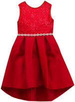 Rare Editions Embroidered-Bodice Dress, Toddler Girls (2T-5T)