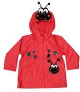 Western Chief Toddler Girl's Ladybug Hooded Raincoat