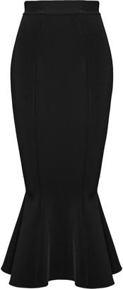 Alexandre Vauthier Stretch-Jersey Maxi Skirt