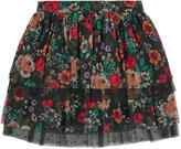Derhy Kids Printed skirt with flounces