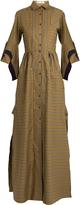 Palmer Harding PALMER/HARDING Striped maxi shirtdress