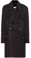 Rick Owens Mohair And Wool Coat