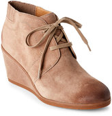 Franco Sarto Mushroom Austine Burnished Wedge Booties