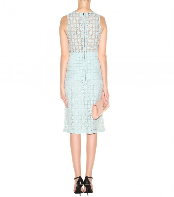 Burberry Lace-macramé dress