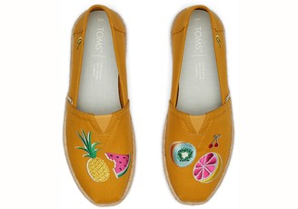 Toms Spice Gold Embroidery Women's Classics