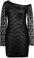 Philipp Plein asymmetric dress - women - Polyester - S