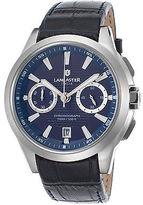 Lancaster Italy OLA0666C-L-SS-BL-BL Men's Apollo Chronograph Navy Blue