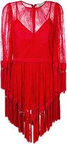 Alice McCall fringed mini dress - women - Nylon/Rayon - 30