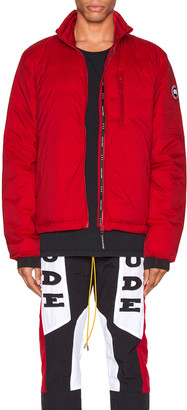 Canada Goose Lodge Jacket in Red | FWRD