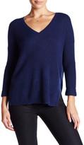 Velvet by Graham & Spencer V-Neck Cashmere Sweater