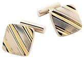 Black Brown 1826 Square Cuff Links