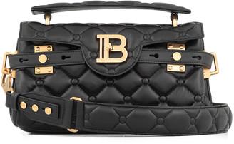 Balmain Capitonne Leather Shoulderbag