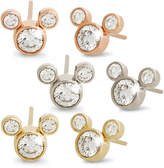 Disney Diamond Stud Mickey Mouse Earrings - 18K - Large