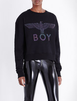 Boy London Eagle Flash jersey sweatshirt