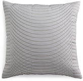 "Hotel Collection Modern Interlace Embroidered 20"" Square Decorative Pillow"