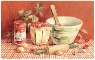 Mohawk Home Comfort Red Berries Kitchen Mat - 18'' x 30''