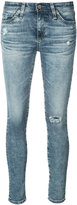 AG Jeans distressed skinny jeans - women - Cotton/Polyurethane - 24