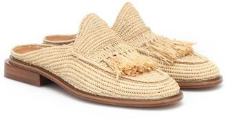 Clergerie Jil raffia slippers