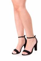 Fuzzi Braid Heels
