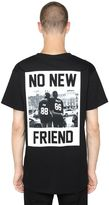 Les (Art)ists No New Friend Printed Jersey T-Shirt