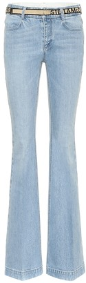 Stella McCartney Low-rise flared jeans