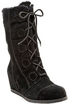 Bare Traps BareTraps Water-Resistant Suede Lace-up Boots -Brinda