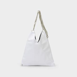 MM6 MAISON MARGIELA Handbag Japanese In White Eco Leather