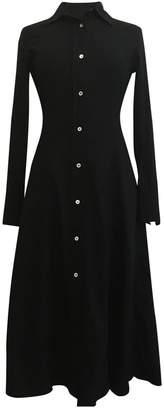 Arket Black Cotton - elasthane Dress for Women