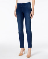 Style&Co. Style & Co Petite Curvy-Fit Pull-On Denim Leggings, Only at Macy's