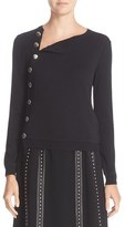 Altuzarra Women's Minamoto Button Merino Wool Sweater