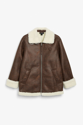 Monki Aviator jacket