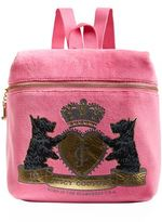 Juicy Couture Royal Scotties Zip Top Backpack