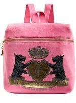Juicy Couture Royal Scotties Zip Top Backpack