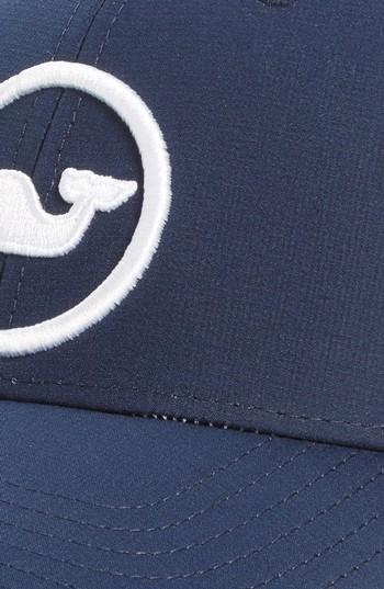 Vineyard Vines Men's Whale Dot Trucker Cap - Blue