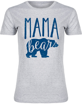 Athletic Heather 'Mama Bear' Fitted Tee
