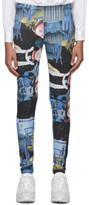 Comme des Garcons Multicolor Boy Band Leggings