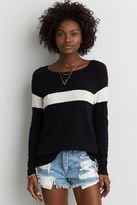 American Eagle Outfitters AE Easy Striped Sweater