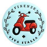 Kate Spade Ashe Place Firenze - Viva Italia Leather Permanent Sticker - Blue