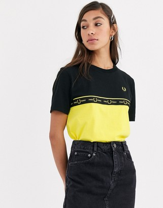 Fred Perry taped tee