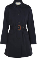 MICHAEL Michael Kors Cotton-twill Trench Coat - Navy